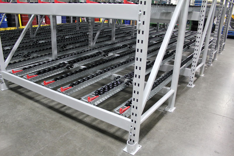 Concentric Storage Pallet Flow Bay