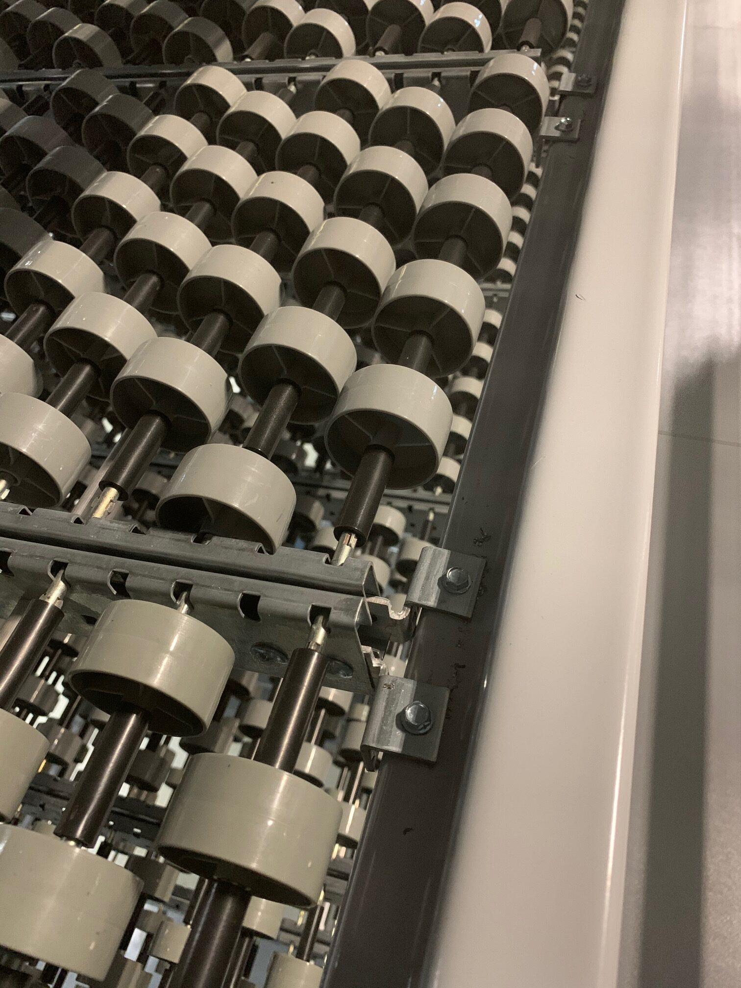 Tek Screw Bracket Installation of Carton Flow