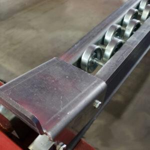 Metal Skate Wheel Pallet Flow