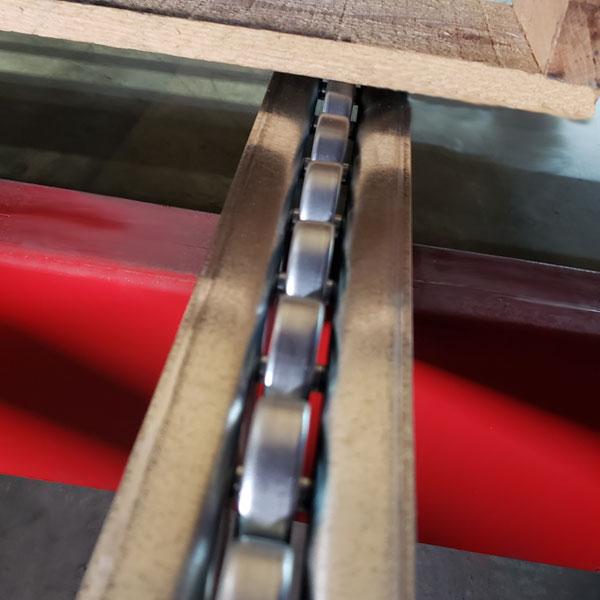 Single Metal Wheel Pallet Flow