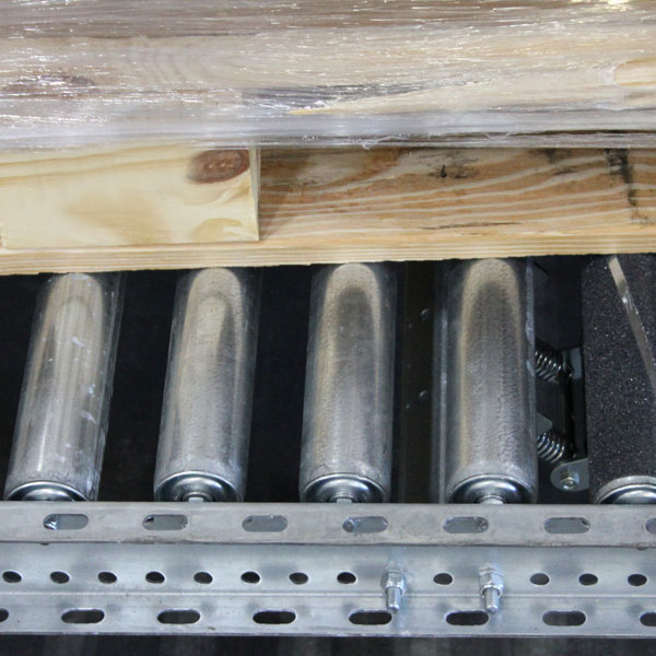Wide Roller Pallet Flow Full Contact